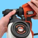 Характеристики и использование краскораспылителя  Black Decker HVLP 400