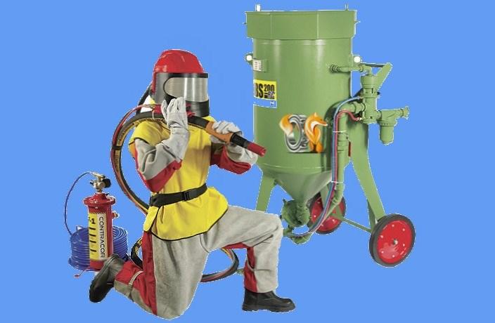 Защитная экипировка пескоструйщика