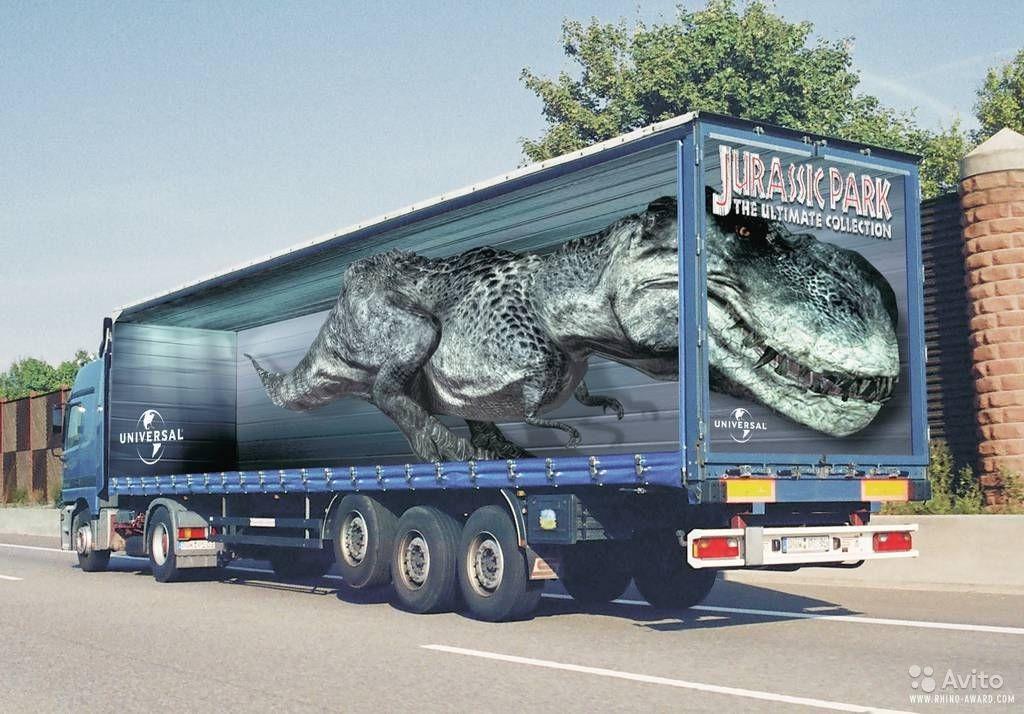 рисунки на фургонах фото яркой