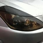 Разрешается ли наносить тонировку на переднюю и заднюю оптику авто?
