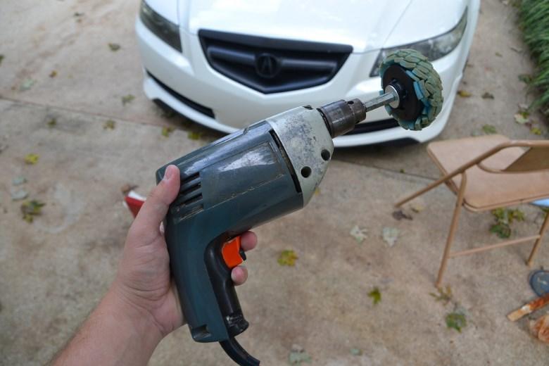 Насадки для полировки кузова автомобиля