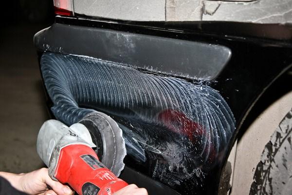 Полировка царапин на машине