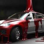 Состав и особенности нанесения автомобильных красок на основе акрила