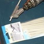 Проверенный способ ремонта пластика: использование термопистолета