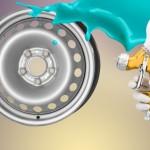 Покраска колесных дисков из стали: подготовка и порядок работы