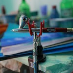 Как разводить лакокрасочные материалы для нанесения аэрографии?