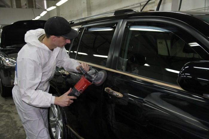 polirovka avtomobilya mashinkoj - Шлифмашинка для полировки автомобиля