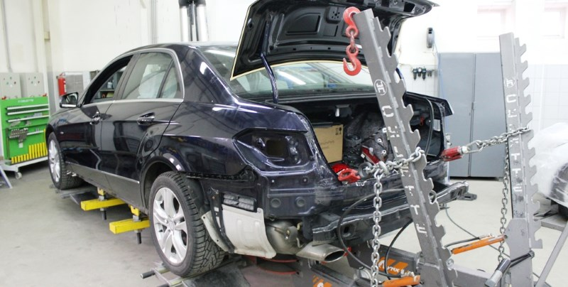 Профессиональный ремонт кузова